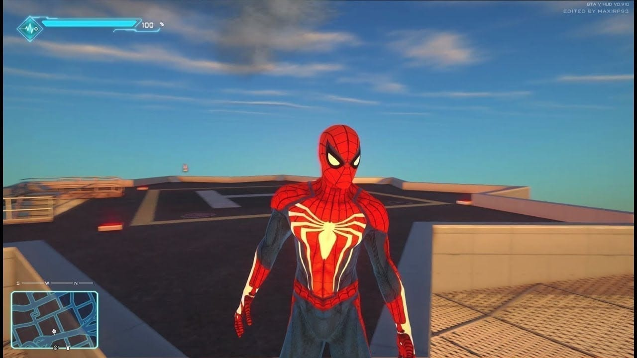 spider man-grand theft auto