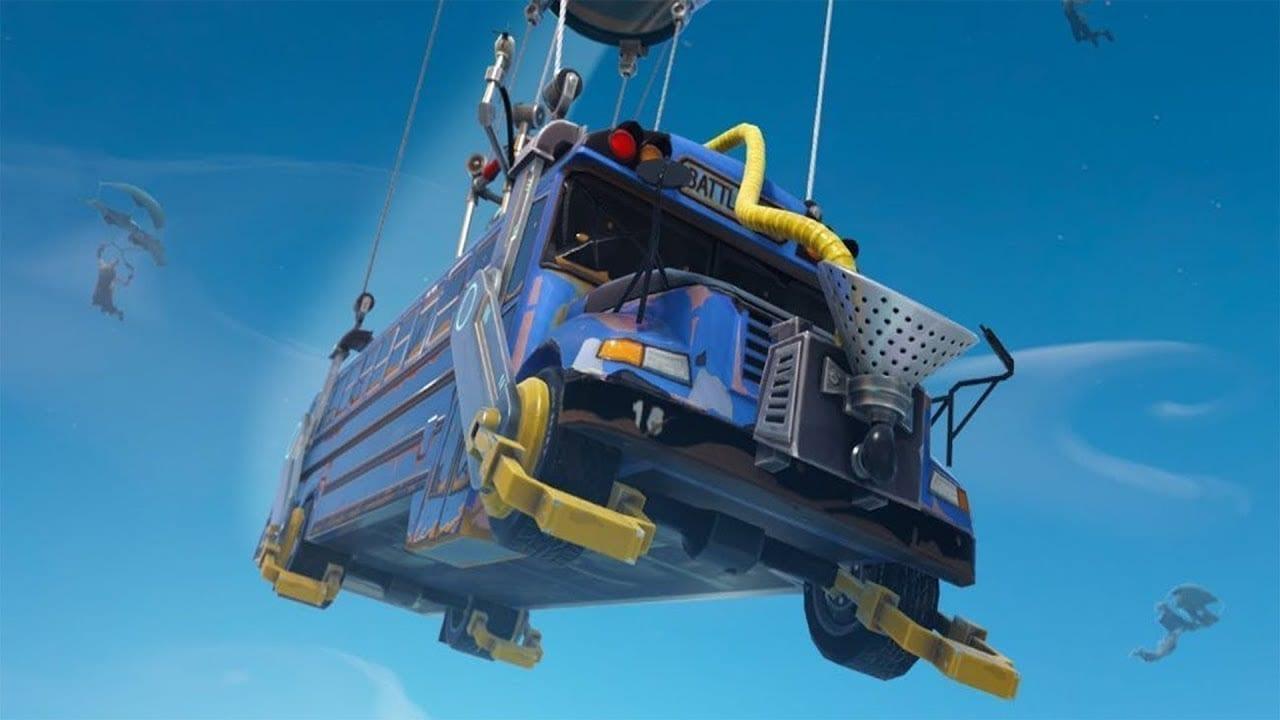 fortnite-epic games-battle bus