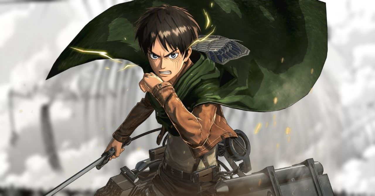 attack on titan, eren, anime,