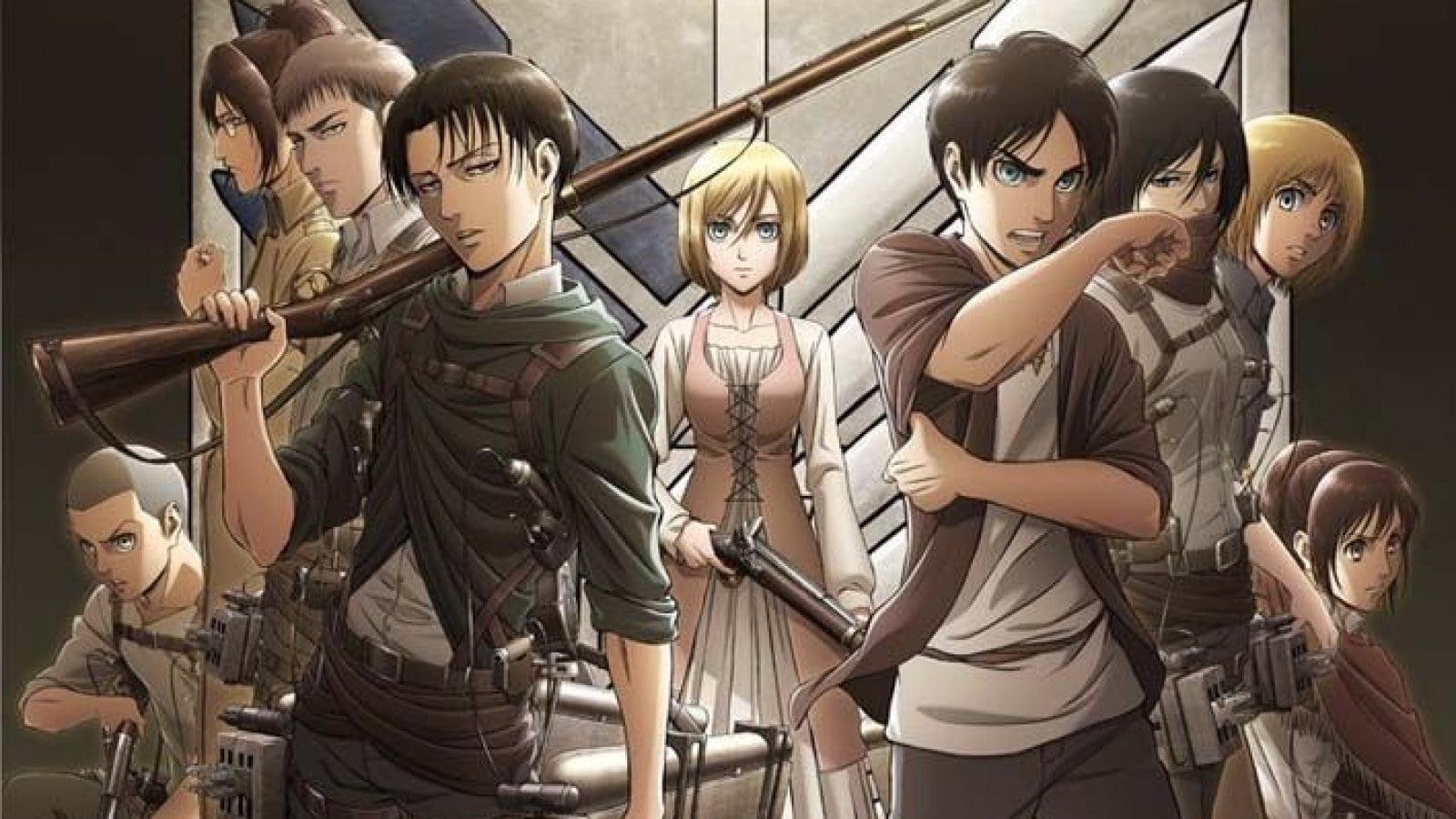 attack on titan, manga, anime,