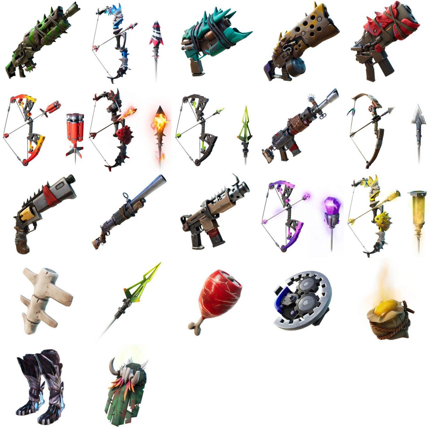 fortnite sezoni 6, fortnite exotic weapons