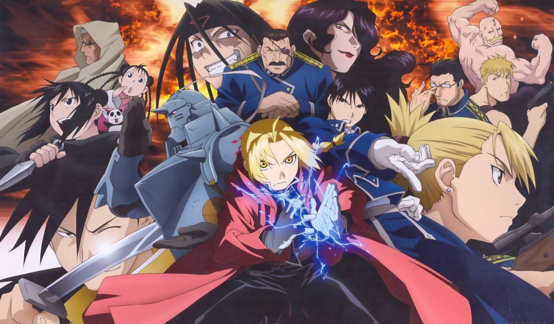 fullmetal alchemist, brotherhood, anime, manga,