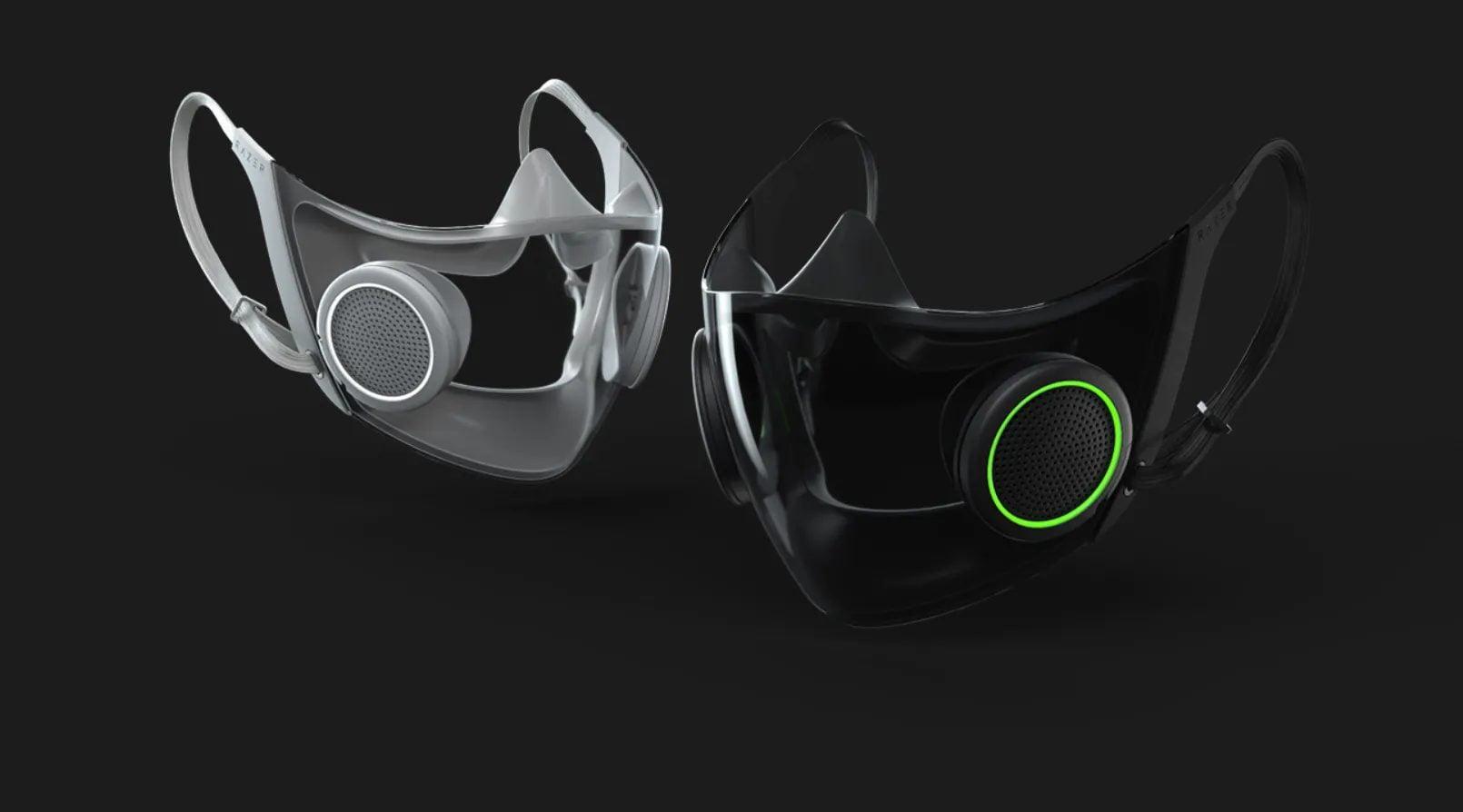 razer n95, smart mask razer, rgb mask
