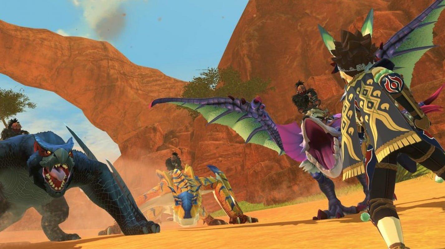 monster hunter stories 2,