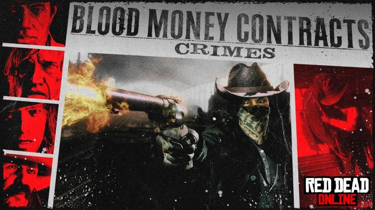 red dead online, blood money,