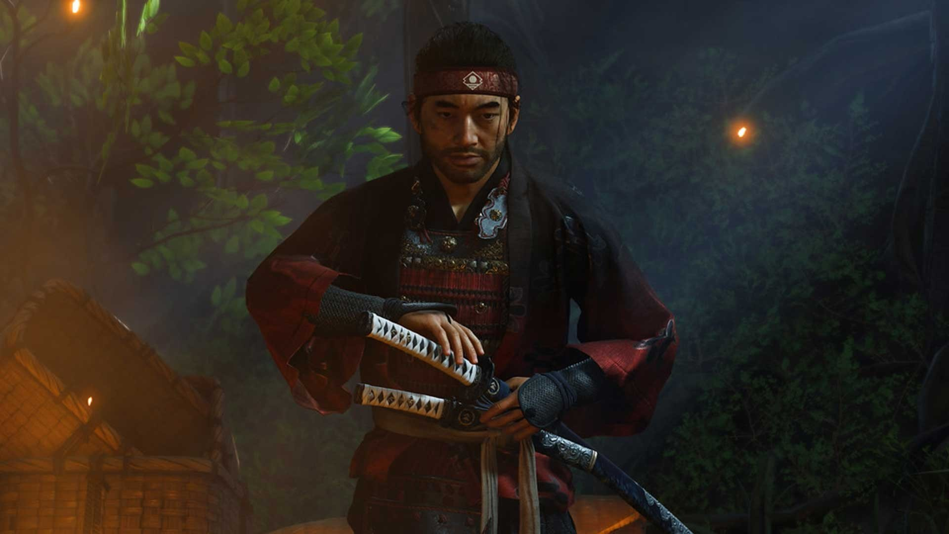 parry, ghost of tsushima, block,