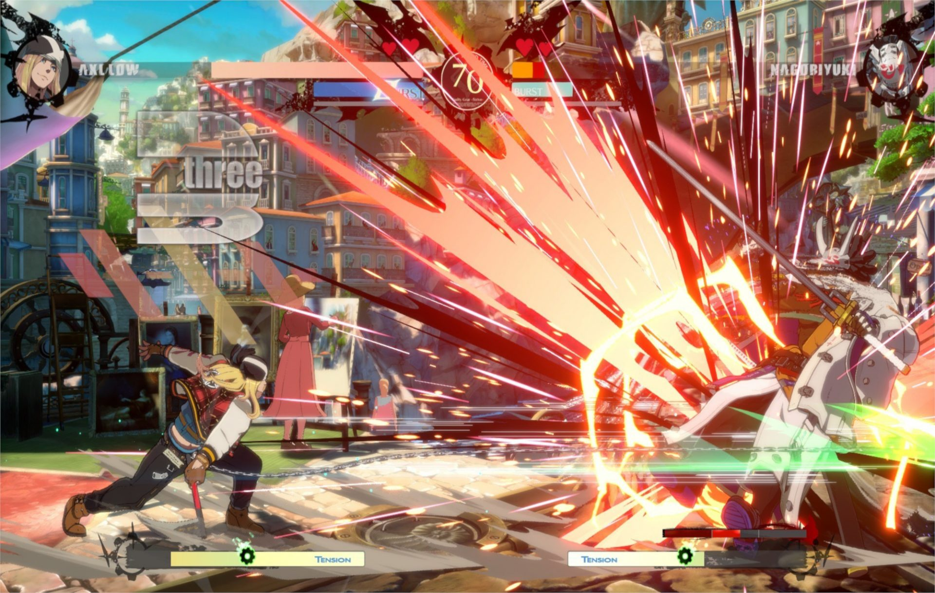 guilty gear -strive-, fighting, arc system, combo